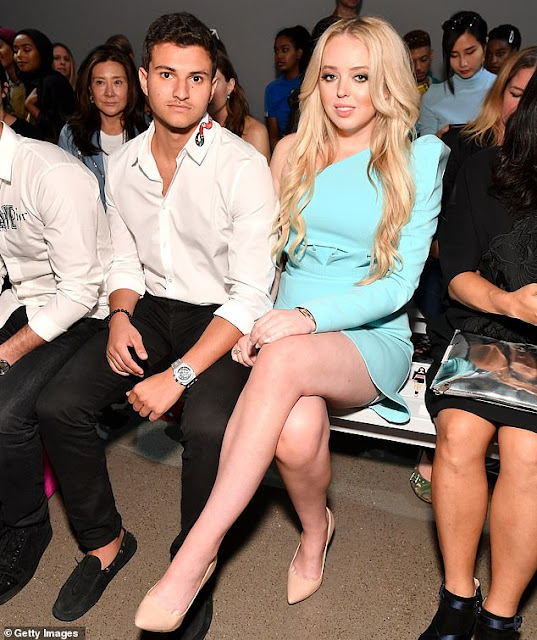 Meet Tiffany Trump's impressive new beau who's ALREADY been to Mar-a-Lago: First Daughter splits with Democrat lover for billionaire