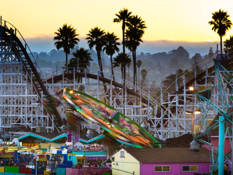 amusement parks in the USA
