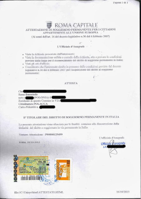 Dee oswaja Włochy: WYBRAŁAM SIĘ DO GMINY... CZ. 2 - O ...