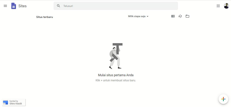 Membuat Website Dengan Menggunakan Google Sites Wirtoyo Com
