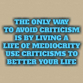 criticisms can make you better