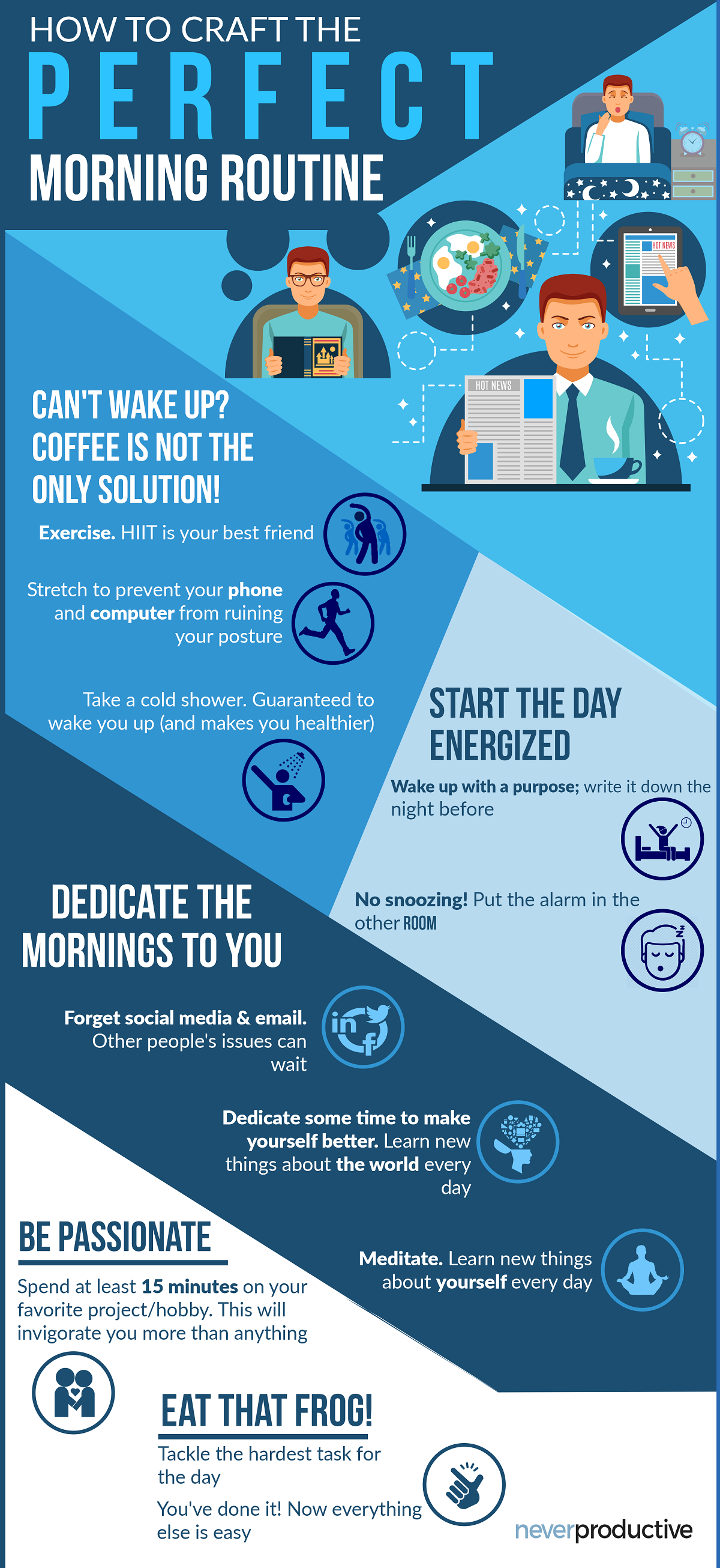 The Perfect Note to Start the Day Up Your Morning Game #infographic