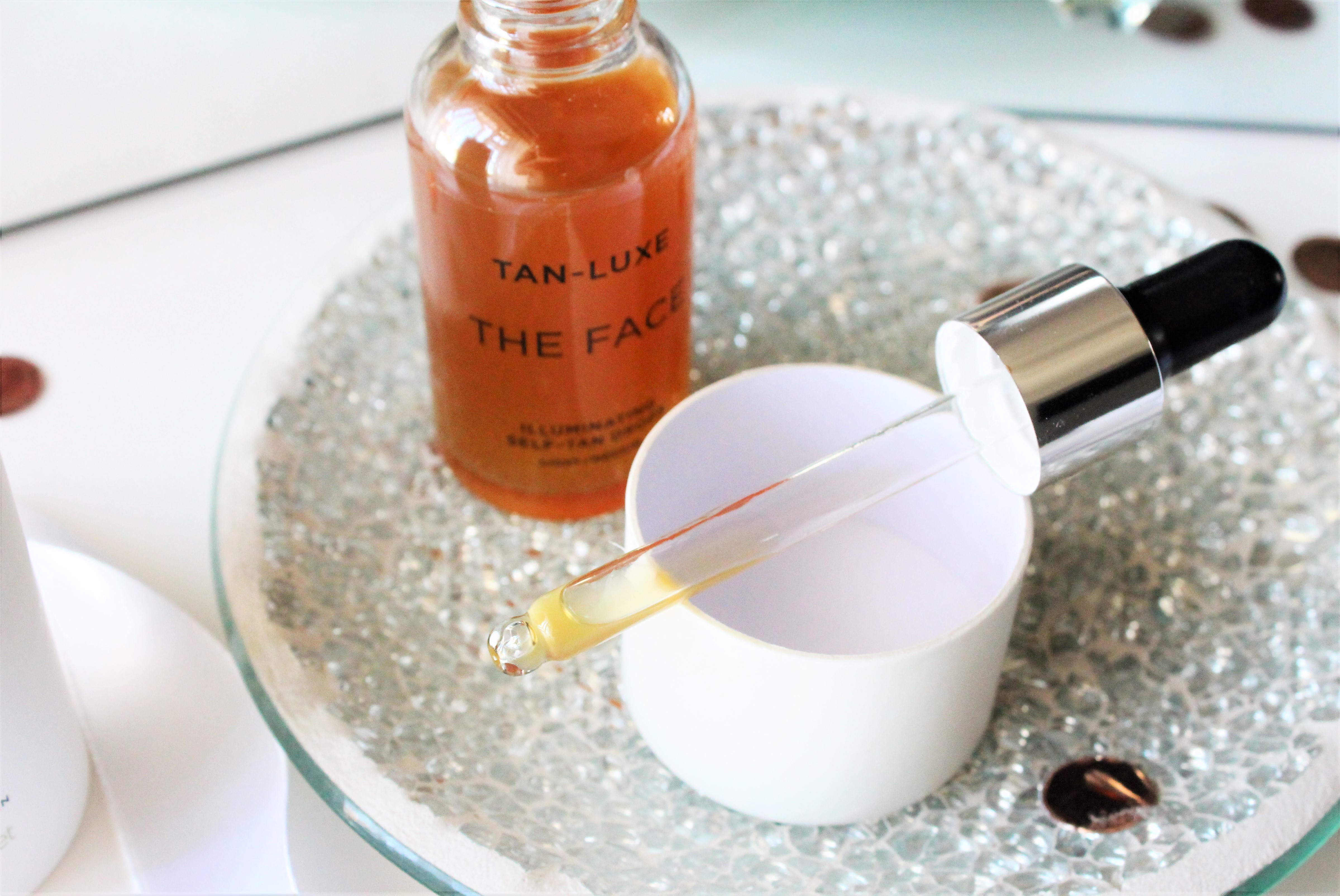 tan luxe face self tanning drops
