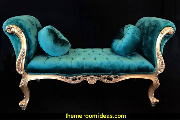 Louis XV style Settee french furniture marie antoinette furniture