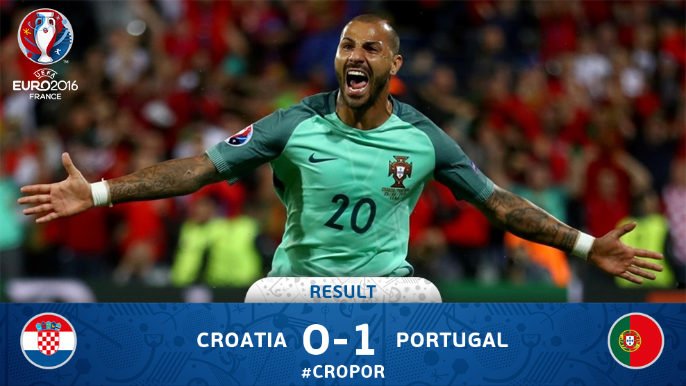 Cetak Gol Pada Babak Tambahan, Portugal Kalahkan Kroasia 1-0