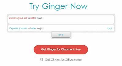 Ginger-Grammar-Checker