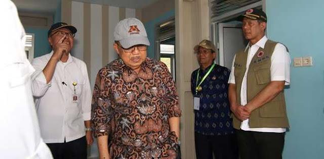Jusuf Kalla Minta Pembangunan Huntap Untuk Korban Gempa Dan Tsunami Palu Segera Rampung