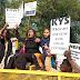 हैदराबाद में महिला डॉक्टर के बलात्कार और हत्या के खिलाफ केवाईएस विरोध प्रदर्शन में हुआ शामिल