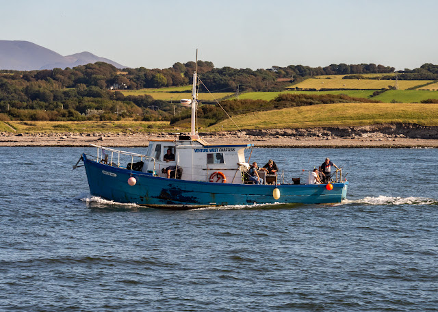Photo of Maryport charter fishing boat Venture West on the Solway Firth