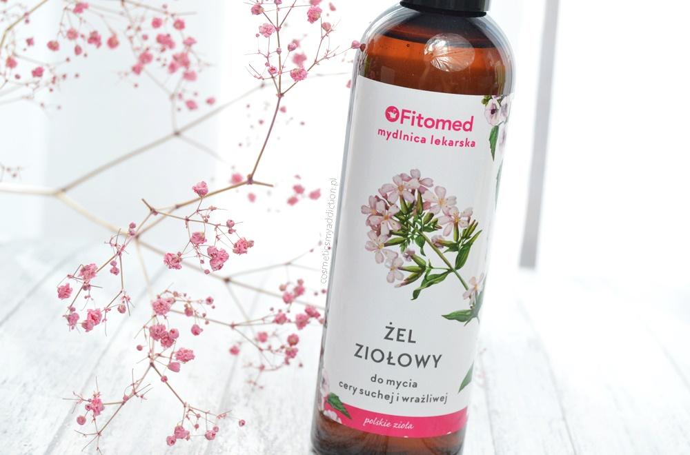 Ziołowy żel do mycia cery suchej i wrażliwej - Fitomed / Świetny produkt w niskiej cenie!
