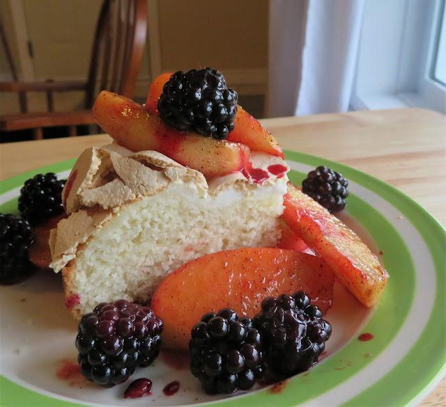 Apple & Blackberry Shortcake