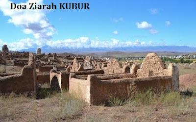 Doa Ziarah Kubur arab latin