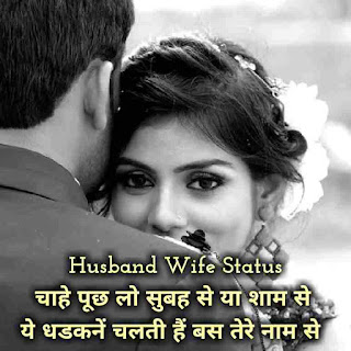 Husband And Wife Love Status In Hindi