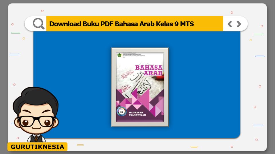 download buku pdf bahasa arab kelas 9 mts