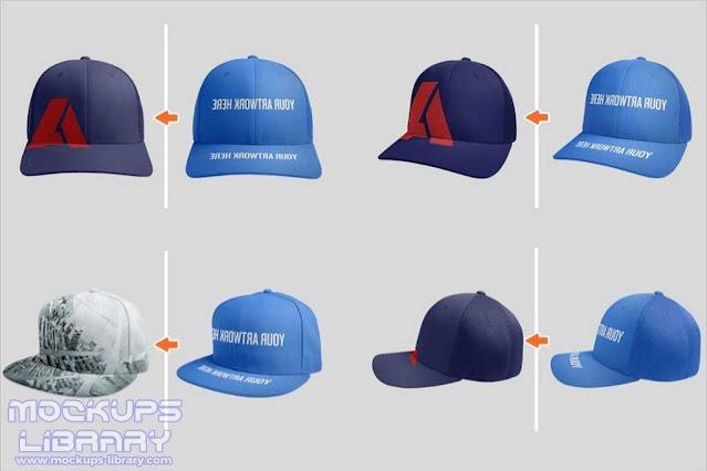 Fully Editable Cap Mockup Design