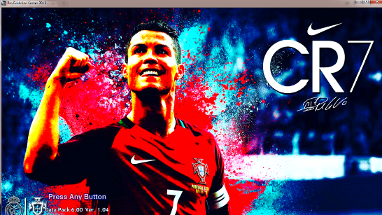 PES 2013 Cristiano Ronaldo HD Start Screen By EGY Patches