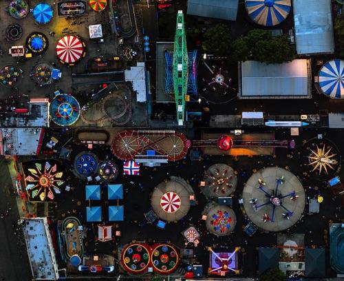 Jeffrey Milstein - Coney Island | chidas fotos cool stuff - aerial photos of NYC