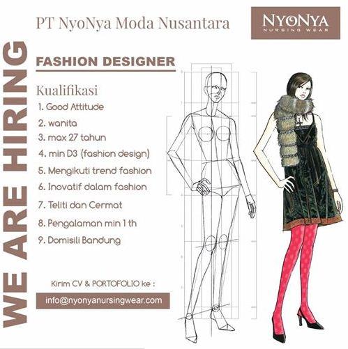 Lowongan Kerja Fashion Designer Bandung