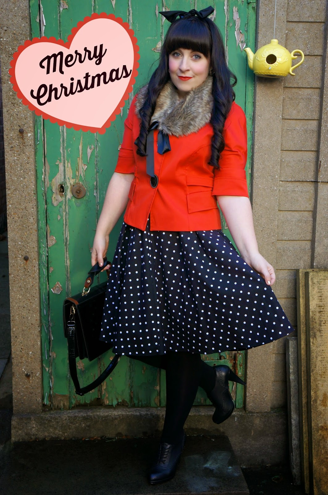 WHAT I WORE :: VINTAGE CHRISTMAS DRESSING