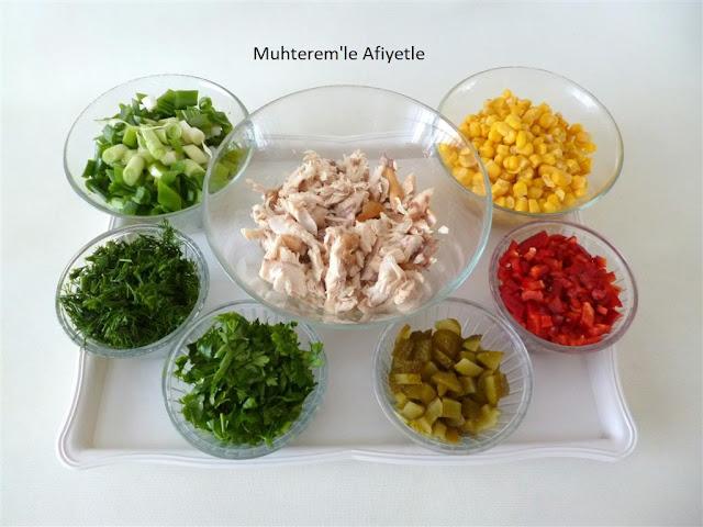 balık salatası nasıl yapılır?