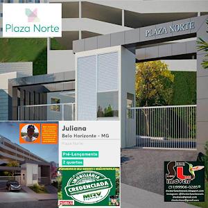 Plaza Norte, Pré-Lançamento, 2 quartos, Juliana, BH, MG