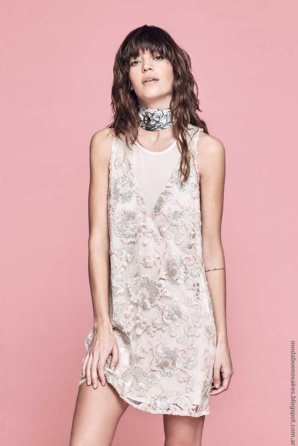 Vestidos de encaje verano 2017 ropa moda verano 2017. Moda mujer 2017.