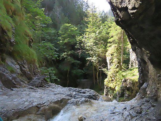 Piecky. Próg Wielkiego Wodospadu.