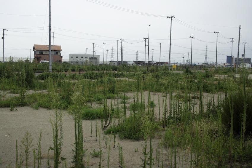 2019年の仙台市蒲生地区 住宅用の整地がすすむ