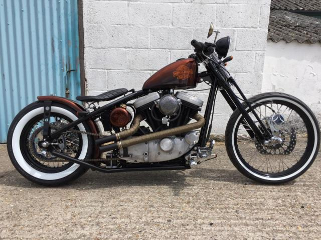 Harley Davidson Sportster By Jones Customs Cycles Hell Kustom