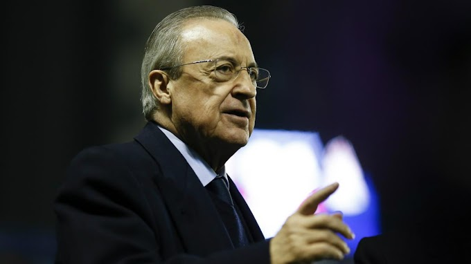 History: 20 years ago on this day Florentino Pérez became Real Madrid's president.