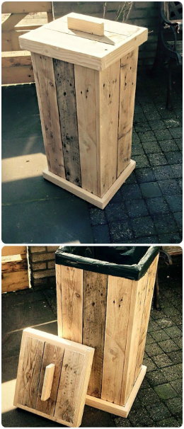 PROJECTS YOU CAN CREATE FROM OLD PALLETS