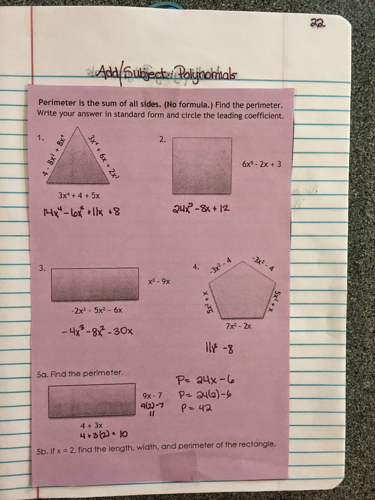 Misscalcul8 Algebra 1 Unit 2 Structure Of Expressions