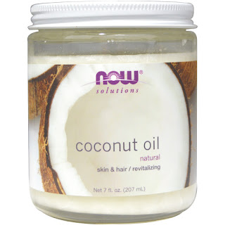Now Foods, Coconut Oil, Natural, 7 fl oz (207 ml) review
