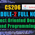 Module 2 Note-CS206 [JAVA] Object Oriented Design and Programming