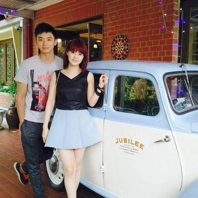 Aloysius Pang and Jayley Woo, 胡佳琪 Hú jiā qí