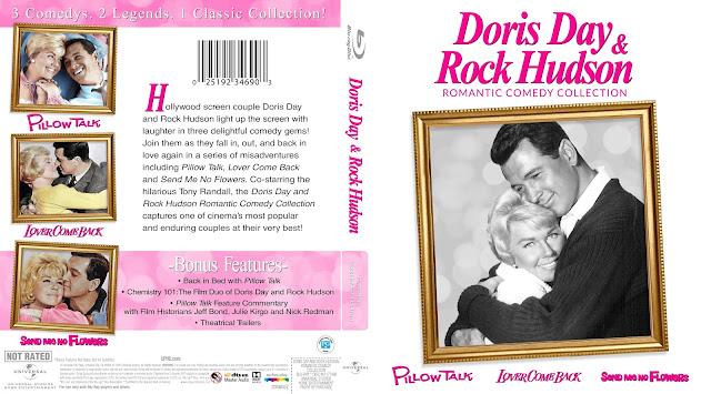 Doris Day & Rock Hudson Romantic Comedy Collection Bluray Cover