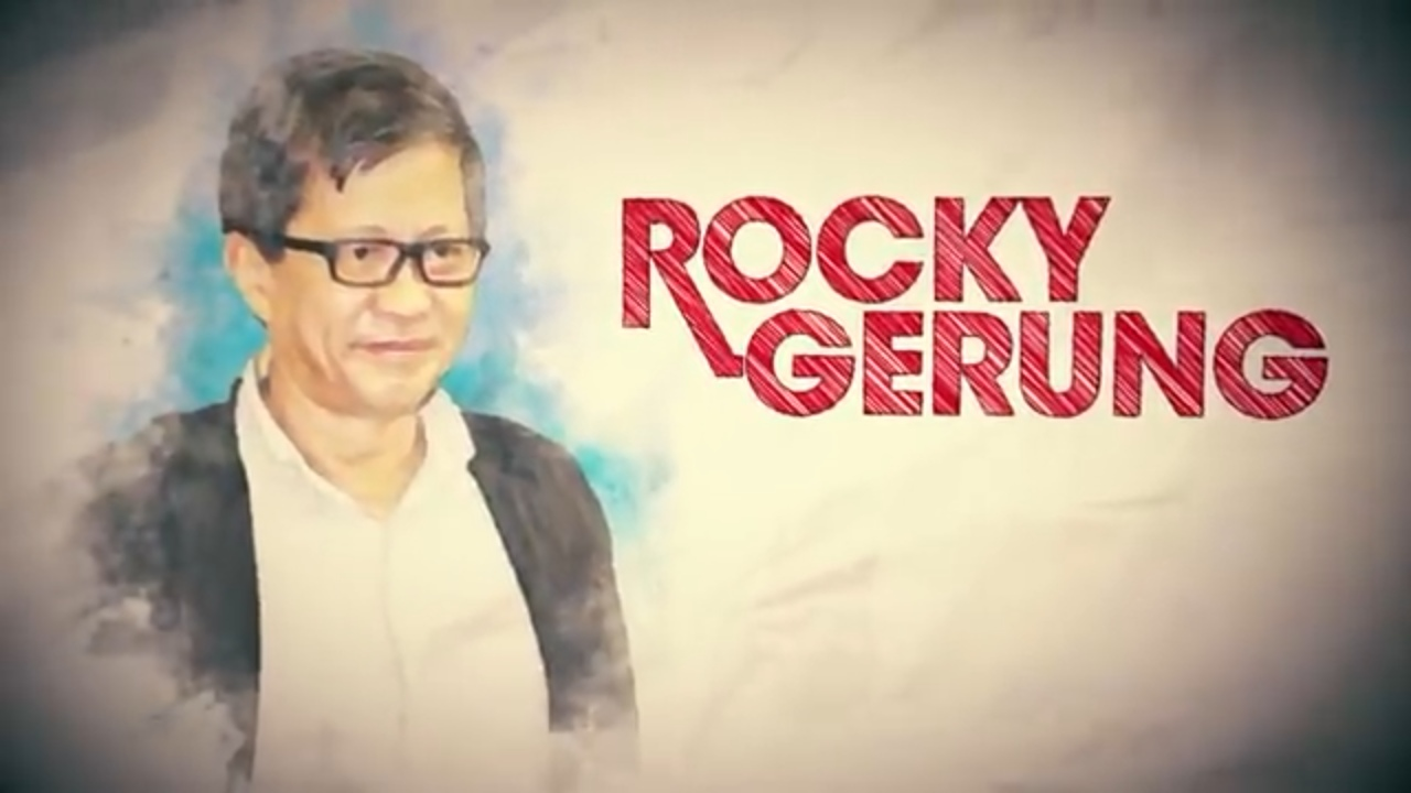 Sebut Legitimasi KPK Terganggu, Rocky Kaitkan dengan Jokowi