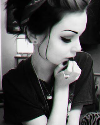Selfie tumblr gotica