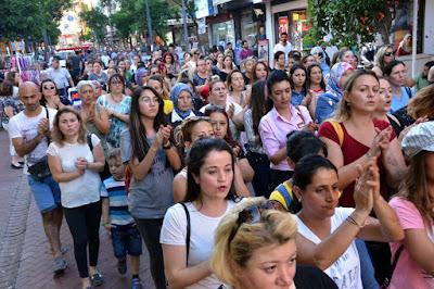 Kadınların Öldürülmediği Şehirler İstiyoruz