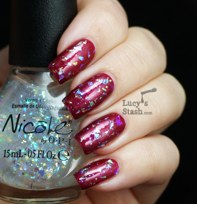 Lucy's Stash - Nicole By OPI Heavenly Angel