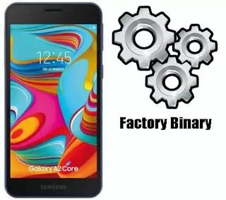 Samsung Galaxy A2 Core SM-A260G Combination Firmware