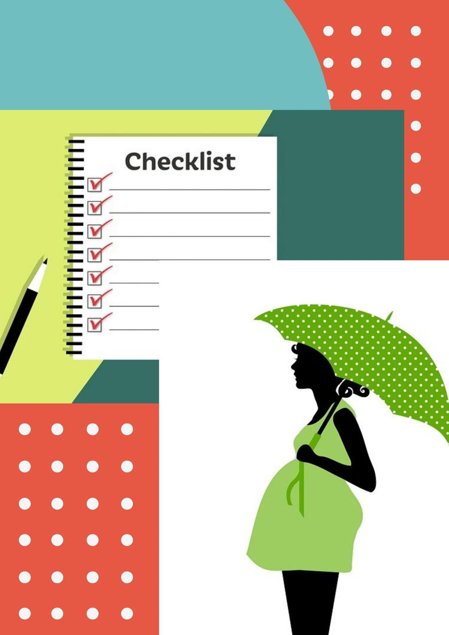 Checklist for first-time parents