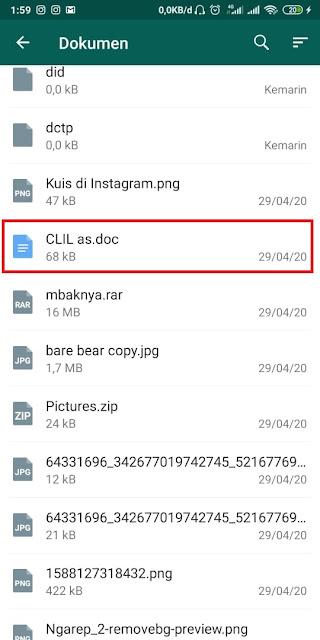 Cara Kirim File lewat WA (2)