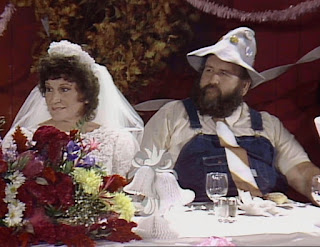 WWE / WWF Saturday Night's Main Event 2 - Uncle Elmer and Joyce at their wedding reception