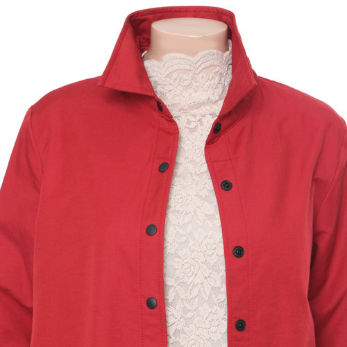 Long Sleeved Button-Down Jacket