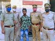 फतेहगढ़: कोतवाली फर्रूखाबाद पुलिस द्वारा जनपद स्तर में नामित टाप टेन शातिर अपराधी नशीले पाउडर के साथ गिरफ्तार किया