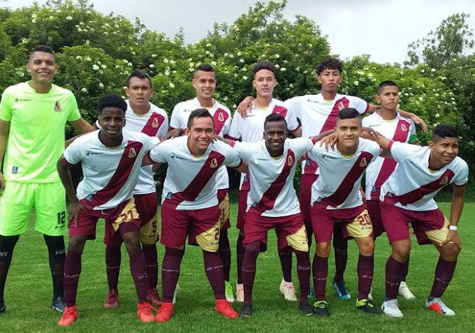 ¡Triunfo de 'seis puntos'! DEPORTES TOLIMA venció a Fortaleza y lidera en el Campeonato Nacional Sub-17