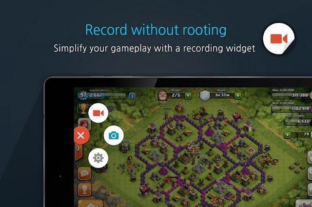 Cara Merekam Permainan COC di Android Menjadi Video Tanpa Root