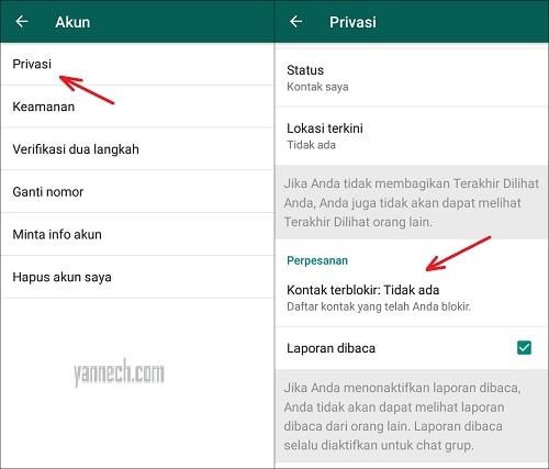 Cara Blokir Nomor WhatsApp Orang Lain Agar Tidak Bisa Dihubungi