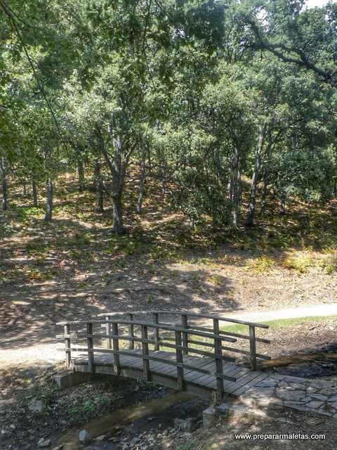 ruta de senderismo Castañar El Tiemblo
